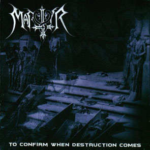 Martyr - To Confirm When Destruction Comes (cd)